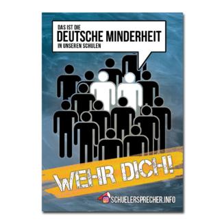 Schülersprecher - Aufkleber - Deutsche Minderheit
