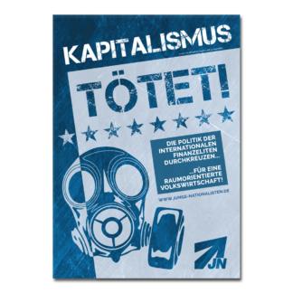 Kapitalismus tötet! - Aufkleber