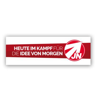 """Banner """"Idee von Morgen"""" 3 x 1 Meter"""